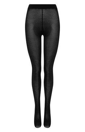 Женские хлопковые колготки GUCCI черного цвета, арт. 627897/3GA10 | Фото 1