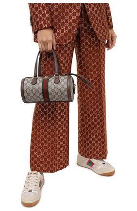 Женская сумка ophidia GUCCI коричневого цвета, арт. 602577/96IWB | Фото 2