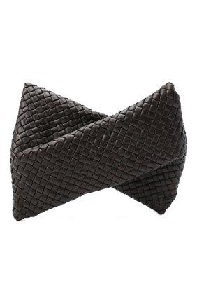 Женский клатч BOTTEGA VENETA темно-коричневого цвета, арт. 640678/V01D1 | Фото 1