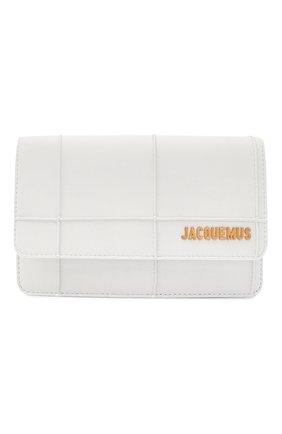 Женская сумка le riviera mini JACQUEMUS белого цвета, арт. 203BA09/308100 | Фото 1