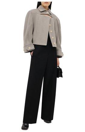 Женский шерстяной жакет JACQUEMUS светло-серого цвета, арт. 203C003/123850   Фото 2