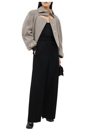 Женское боди JACQUEMUS темно-серого цвета, арт. 203KN38/209971 | Фото 2