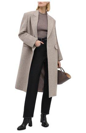 Женский шерстяной пуловер ERIKA CAVALLINI серого цвета, арт. W0/P/P0WD06 | Фото 2