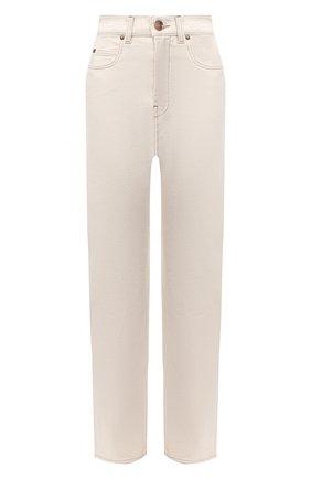 Женские джинсы ERIKA CAVALLINI светло-бежевого цвета, арт. W0/P/P0WW20 | Фото 1