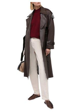 Женские джинсы ERIKA CAVALLINI светло-бежевого цвета, арт. W0/P/P0WW20 | Фото 2