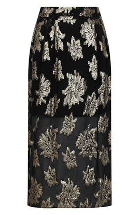 Женская юбка IRO черного цвета, арт. WP31BRAINA | Фото 1