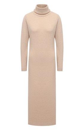 Женское платье PIETRO BRUNELLI бежевого цвета, арт. AGI010/WS0003   Фото 1