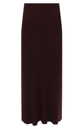 Женская юбка PIETRO BRUNELLI бордового цвета, арт. G0M021/VIM038 | Фото 1
