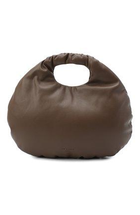 Женская сумка egg LOW CLASSIC темно-коричневого цвета, арт. L0W20FW_BA17DB | Фото 1