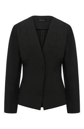 Женский жакет LOW CLASSIC черного цвета, арт. L0W20FW_BZ08BK | Фото 1