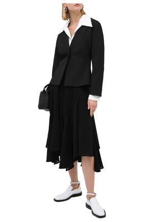 Женский жакет LOW CLASSIC черного цвета, арт. L0W20FW_BZ08BK | Фото 2