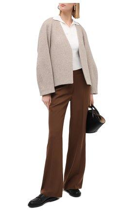 Женский шерстяной жакет LOW CLASSIC светло-серого цвета, арт. L0W20FW_CT090T | Фото 2