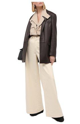 Женская рубашка LOW CLASSIC бежевого цвета, арт. L0W20FW_SH07BE | Фото 2