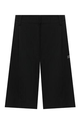 Женские шорты OFF-WHITE черного цвета, арт. 0WCA110E20FAB0011000 | Фото 1