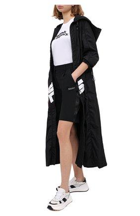 Женские шорты OFF-WHITE черного цвета, арт. 0WCA110E20FAB0011000 | Фото 2