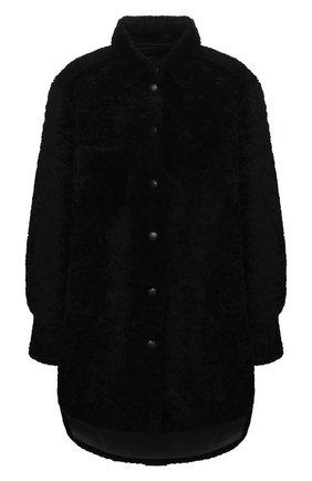 Женская дубленка ANNE VEST черного цвета, арт. AW20/01/303/01/AVRIL SHIRT | Фото 1