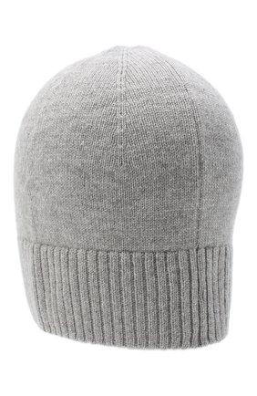 Мужская кашемировая шапка lisbon CANOE серого цвета, арт. 4912470 | Фото 2