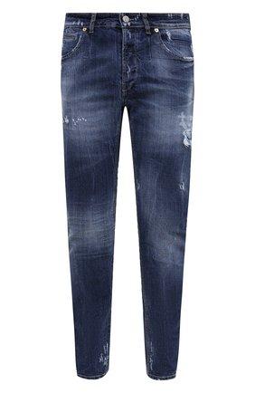 Мужские джинсы PREMIUM MOOD DENIM SUPERIOR темно-синего цвета, арт. F21 347253828/RICHARD | Фото 1