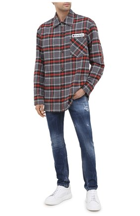 Мужские джинсы PREMIUM MOOD DENIM SUPERIOR темно-синего цвета, арт. F21 347253828/RICHARD | Фото 2