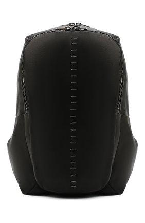 Мужской кожаный рюкзак DANIELE BASTA черного цвета, арт. DB734X25X17GR/0BA GR | Фото 1