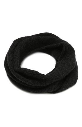 Мужской шерстяной шарф ISABEL BENENATO темно-серого цвета, арт. UK07F20 | Фото 1