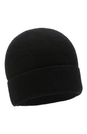 Мужская кашемировая шапка poland CANOE черного цвета, арт. 4915310 | Фото 1