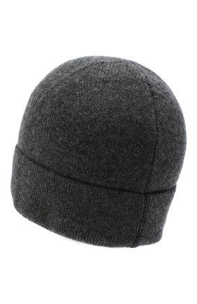 Мужская кашемировая шапка poland CANOE темно-серого цвета, арт. 4915311 | Фото 2