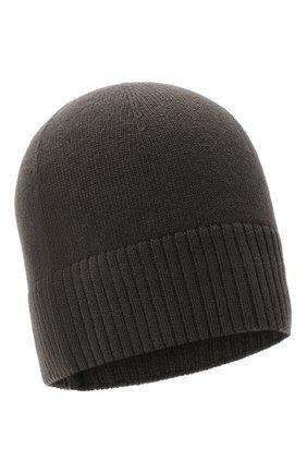 Мужская кашемировая шапка lisbon CANOE хаки цвета, арт. 4912485 | Фото 1