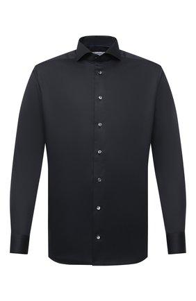 Мужская хлопковая рубашка ETON черного цвета, арт. 1000 01865 | Фото 1