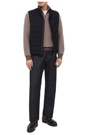 Мужские кожаные лоферы arturo DOUCAL'S темно-коричневого цвета, арт. DU2653ED0-UM019TM00 | Фото 2