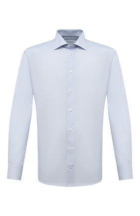 Мужская хлопковая сорочка ETON синего цвета, арт. 1000 01273 | Фото 1