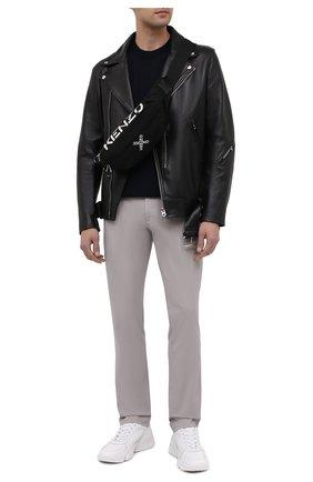 Мужская текстильная поясная сумка kenzo sport KENZO черного цвета, арт. FA65SA221F21   Фото 2