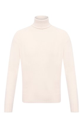Мужской кашемировый свитер TOM FORD кремвого цвета, арт. BVG50/TFK320 | Фото 1