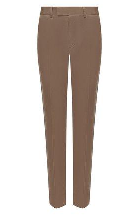 Мужской хлопковые брюки GUCCI бежевого цвета, арт. 468518/Z3732 | Фото 1