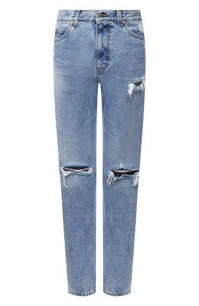 Мужские джинсы GUCCI синего цвета, арт. 623953/XDBFM | Фото 1