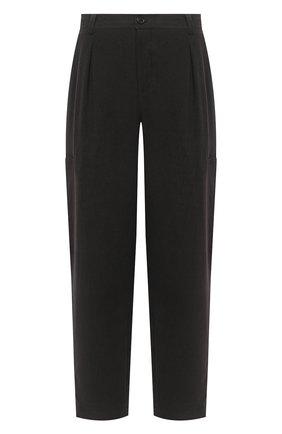 Мужские хлопковые брюки JACQUEMUS темно-серого цвета, арт. 206PA03/150930 | Фото 1 (Материал внешний: Хлопок; Длина (брюки, джинсы): Стандартные; Случай: Повседневный; Стили: Минимализм)