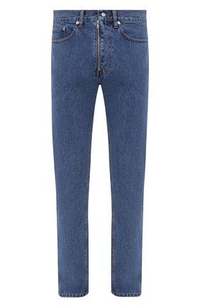 Мужские джинсы DRIES VAN NOTEN синего цвета, арт. 202-22414-1386 | Фото 1