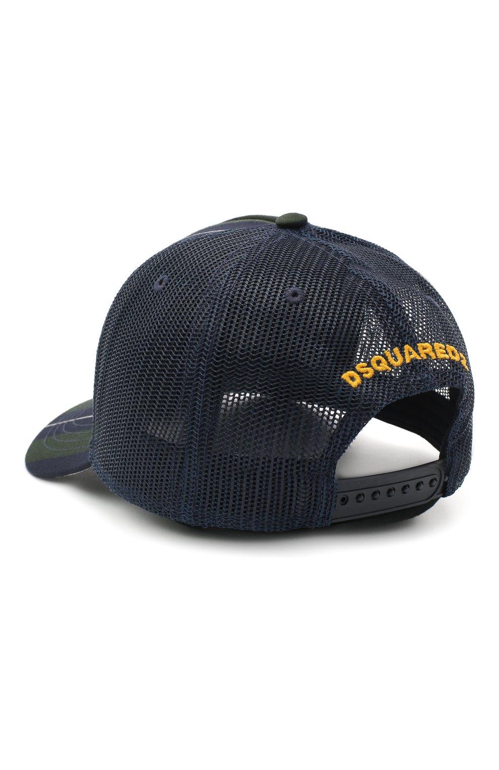 Мужской бейсболка DSQUARED2 разноцветного цвета, арт. BCM0351 16803245   Фото 2