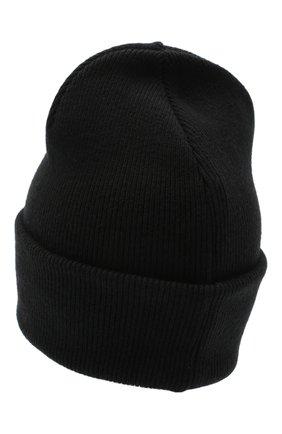 Мужская шерстяная шапка DSQUARED2 черного цвета, арт. KNM0001 01W03533   Фото 2