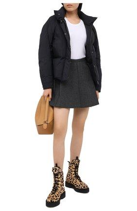 Женский пуховая куртка LOW CLASSIC черного цвета, арт. L0W20FW_JK07BK | Фото 2