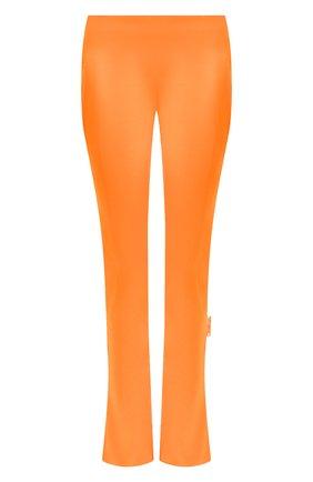 Женские брюки OFF-WHITE оранжевого цвета, арт. 0WCA119F20FAB0022500   Фото 1