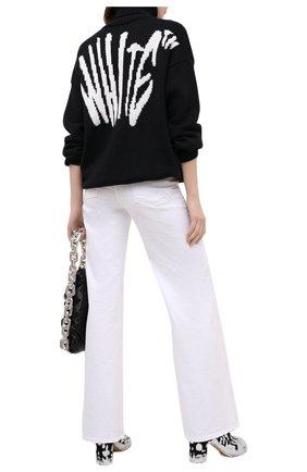 Женская шерстяной свитер OFF-WHITE черного цвета, арт. 0WHF008F20KNI0011001 | Фото 2