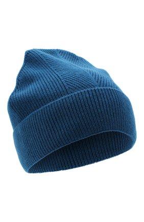 Женская кашемировая шапка amsterdam CANOE синего цвета, арт. 4912146 | Фото 1
