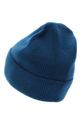 Женская кашемировая шапка amsterdam CANOE синего цвета, арт. 4912146 | Фото 2