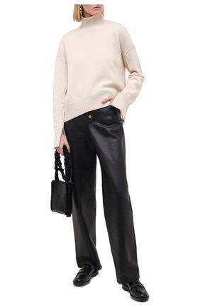 Женский свитер из шерсти и кашемира MRZ бежевого цвета, арт. FW20-0050 | Фото 2