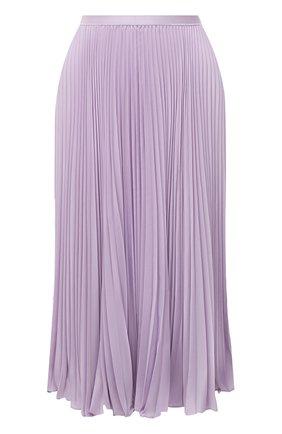 Женская плиссированная юбка POLO RALPH LAUREN светло-розового цвета, арт. 211781249 | Фото 1