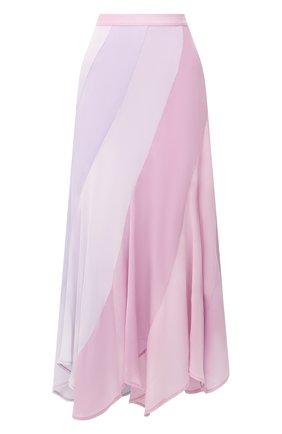 Женская шелковая юбка POLO RALPH LAUREN светло-розового цвета, арт. 211805928 | Фото 1