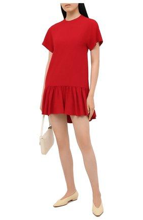 Женское платье REDVALENTINO красного цвета, арт. UR0VAV40/0F1 | Фото 2