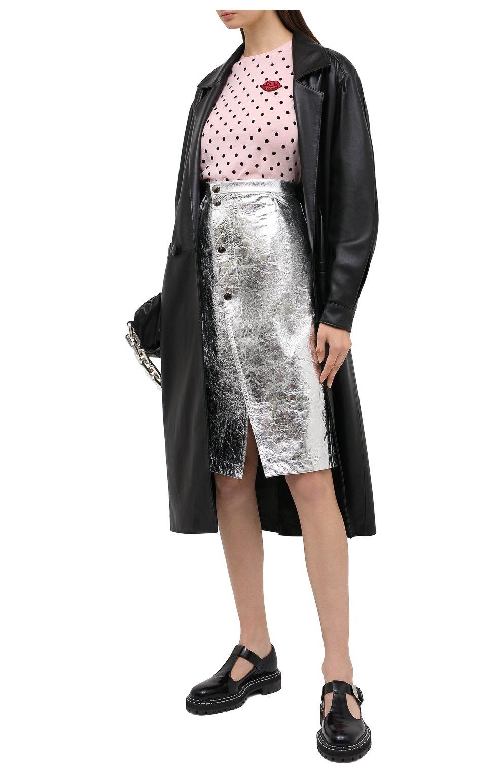 Женский шерстяной пуловер REDVALENTINO светло-розового цвета, арт. UR0KC02V/5EY | Фото 2