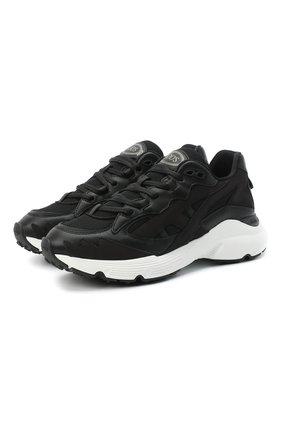 Женские комбинированные кроссовки TOD'S черного цвета, арт. XXW54C0DP500VC   Фото 1